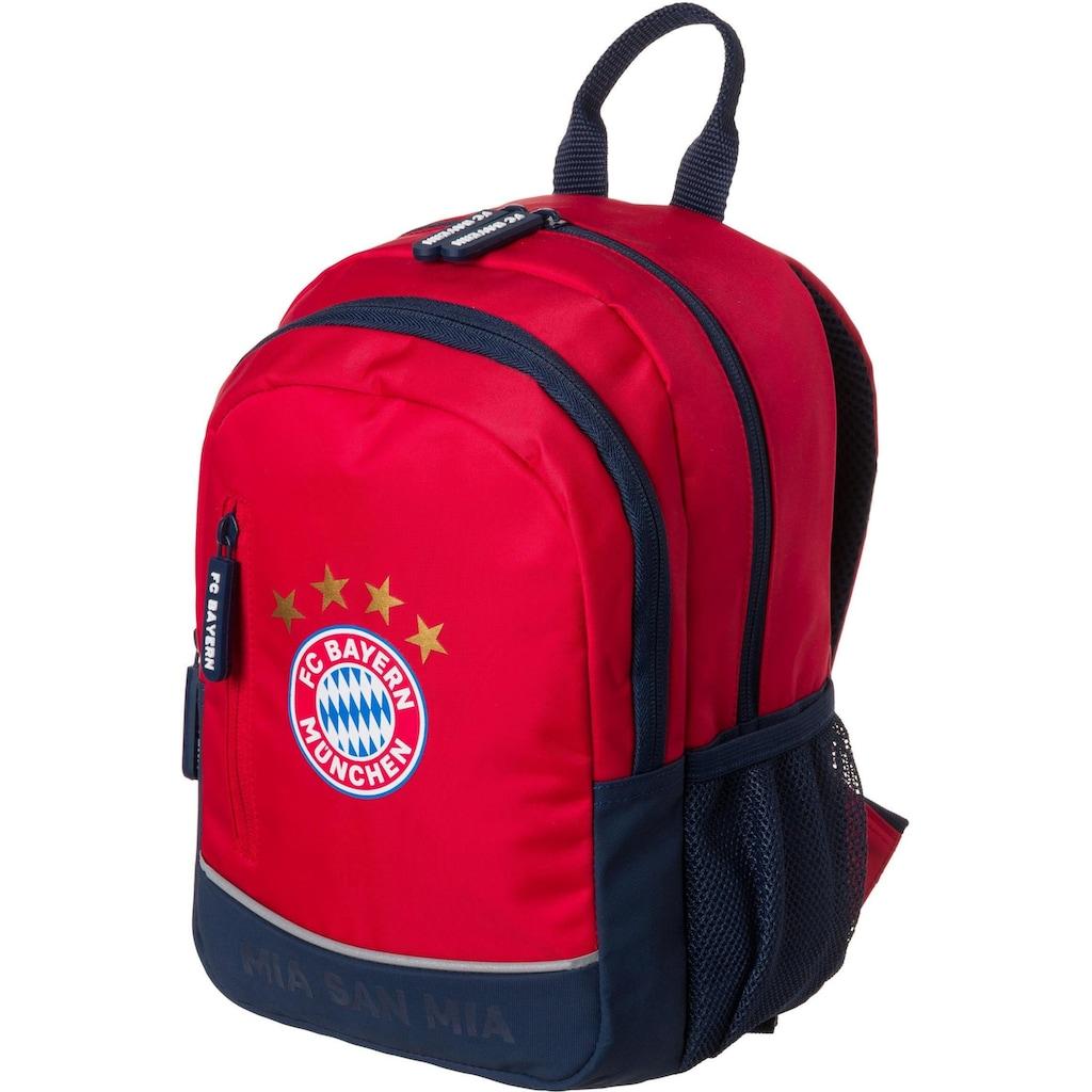 FC Bayern Kinderrucksack »Mia San Mia«, Reflektoren