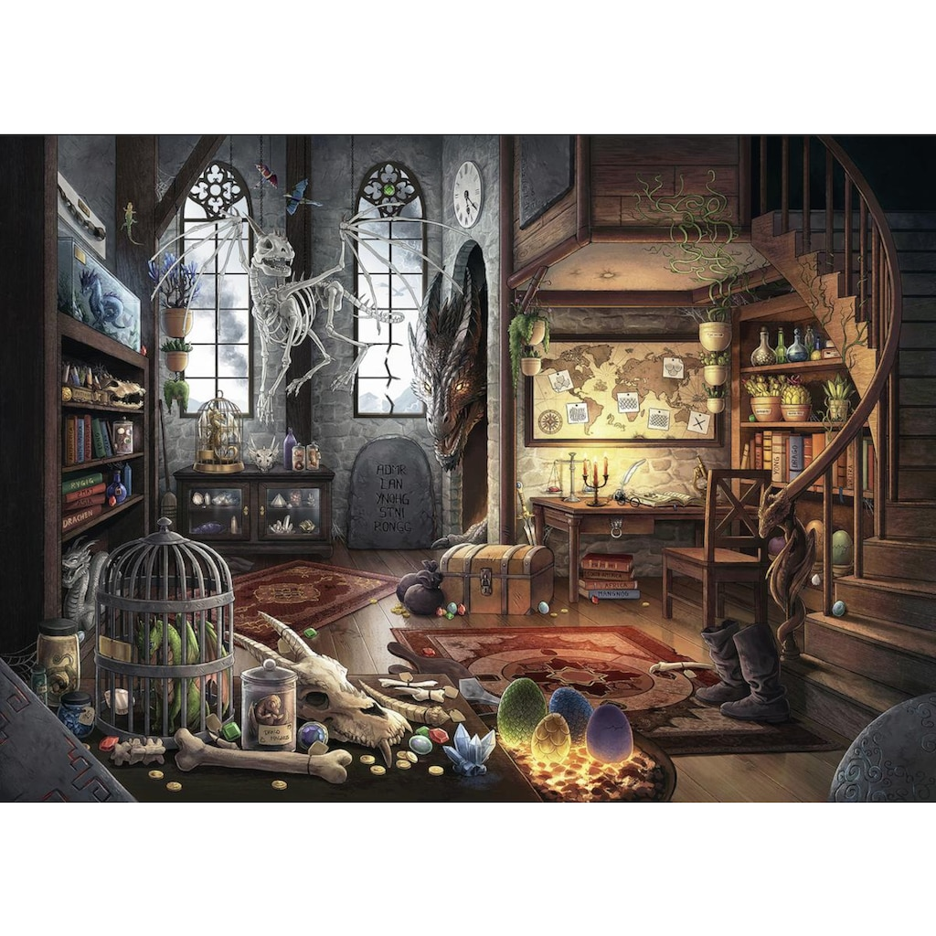 Ravensburger Puzzle »Puzzle Exit 5: Im Drachenlabor«, Made in Germany