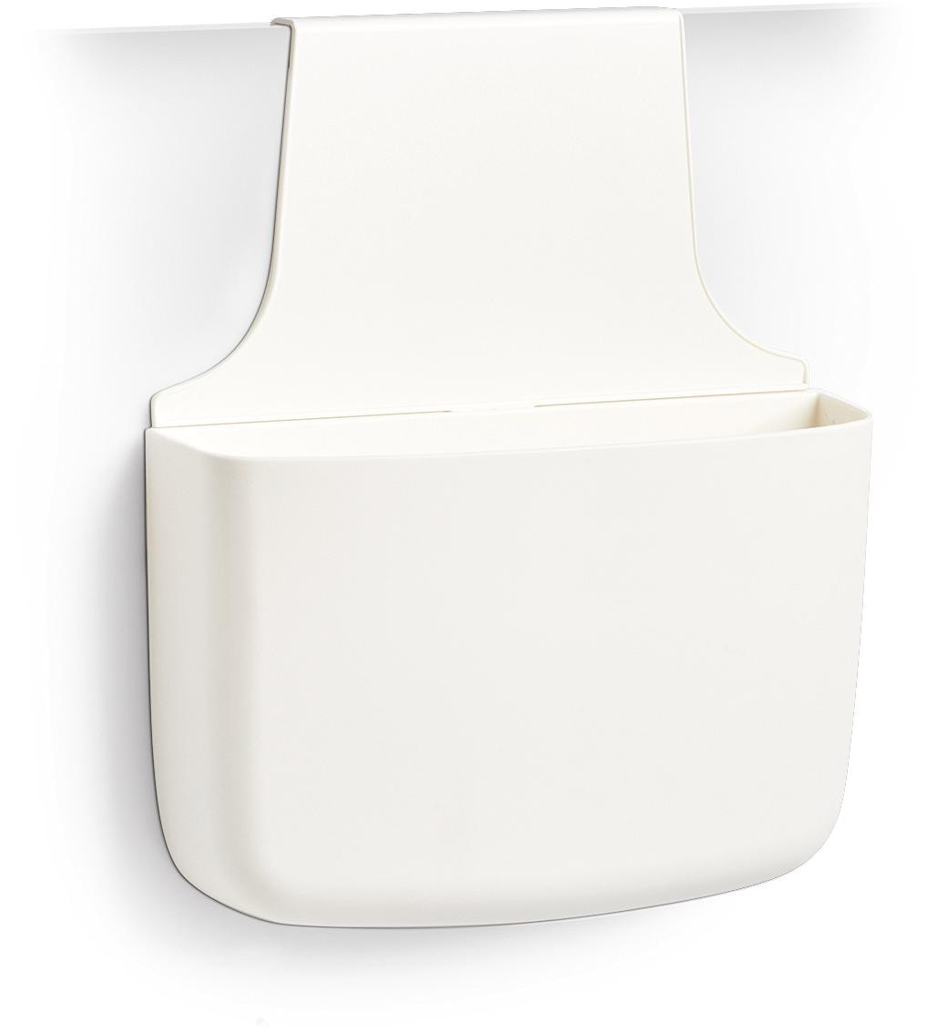 Zeller Present Aufbewahrungstasche, mit Aufhänger weiß Aufbewahrungstaschen Aufbewahrung Ordnung Wohnaccessoires Aufbewahrungstasche