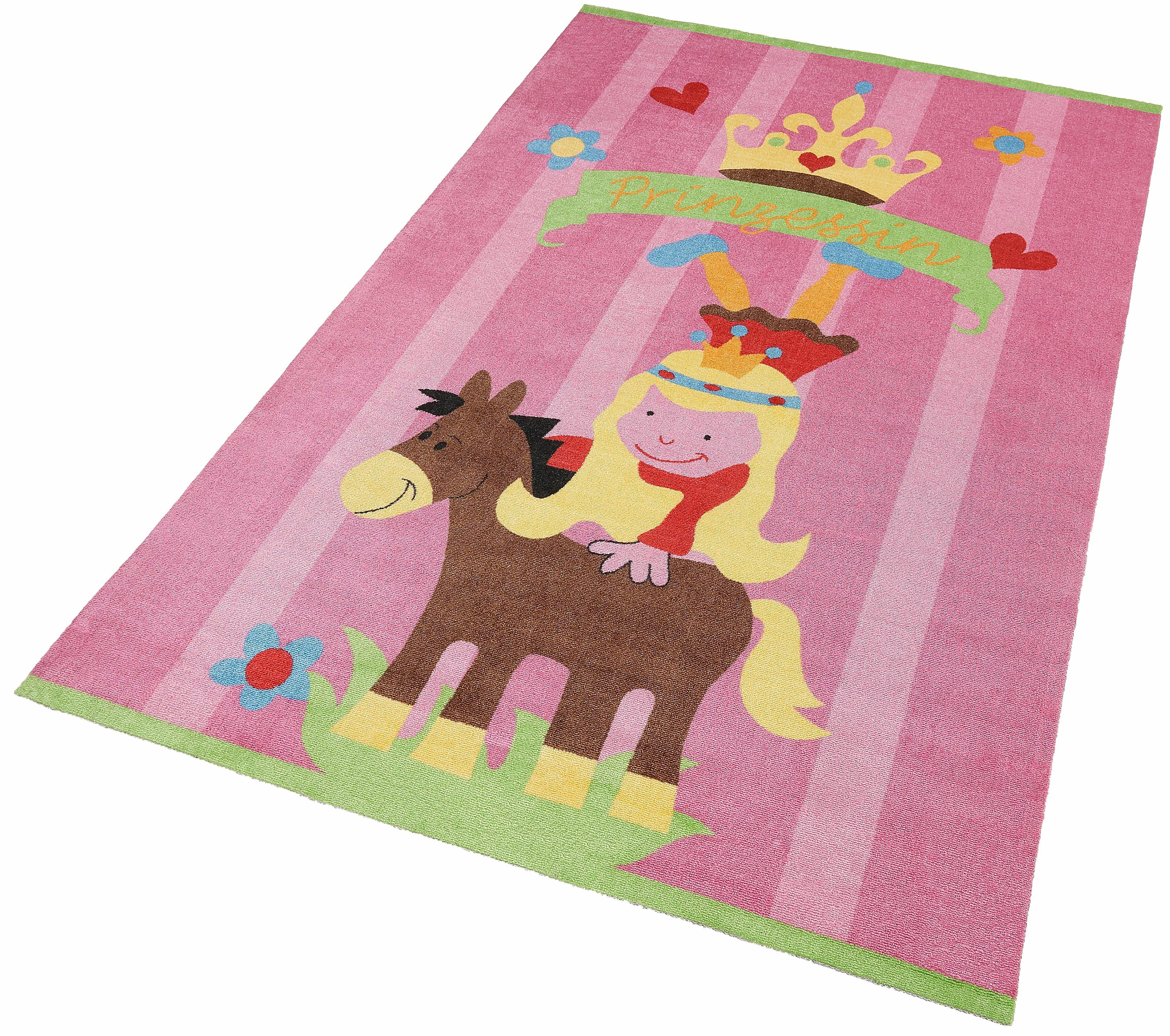 Kinderteppich Mamba3 THEKO rechteckig Höhe 12 mm gedruckt