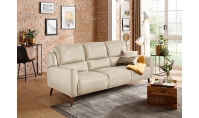 Premium collection by Home affaire 3-Sitzer »Alibis«, in zwei Bezugsqualitäten kaufen