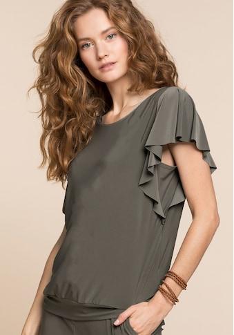 bianca Blusenshirt »FANCY«, mit femininen Volant kaufen