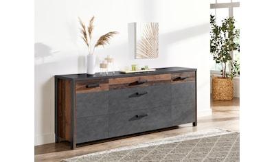 TRENDMANUFAKTUR Sideboard »Buffalo«, Breite 197 cm kaufen
