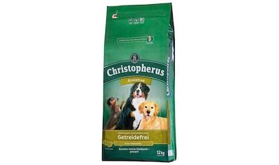 Christopherus Trockenfutter »Getreidefrei Ente und Kartoffel«, (1), 12 kg kaufen