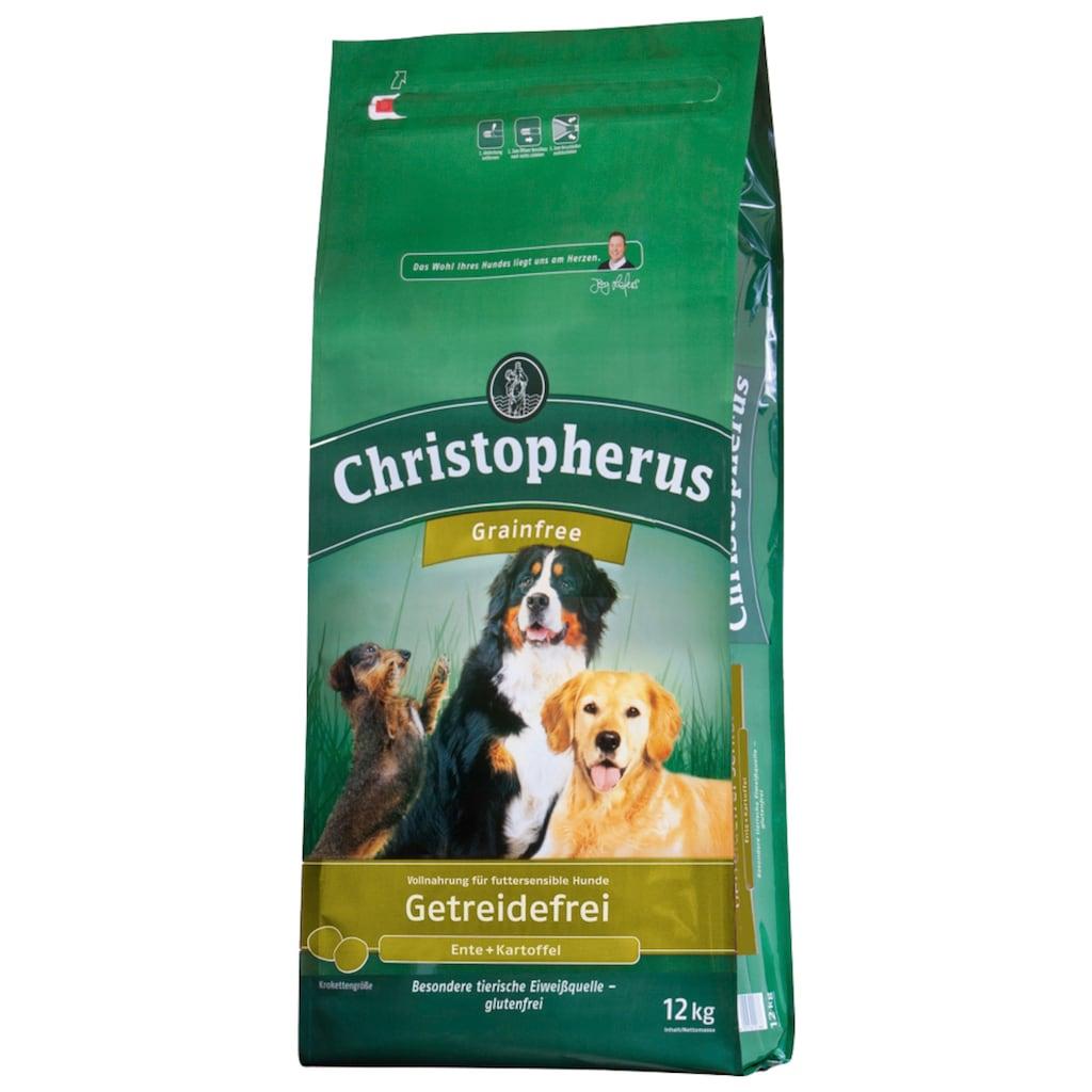 Christopherus Trockenfutter »Getreidefrei Ente und Kartoffel«, (1), 12 kg