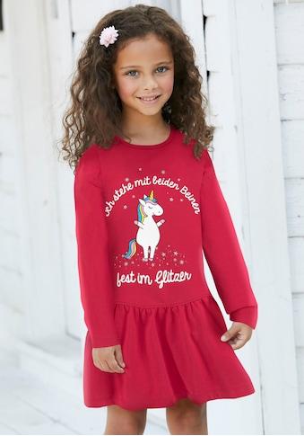 Arizona Jerseykleid »Einhorn« kaufen