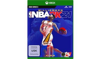 2K Spiel »NBA 2K21«, Xbox Series X kaufen