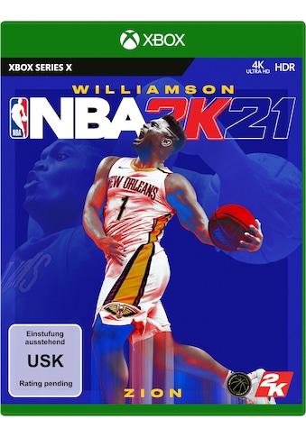 NBA 2K21 Xbox Series X kaufen