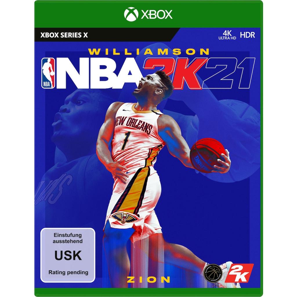 2K Spiel »NBA 2K21«, Xbox Series X