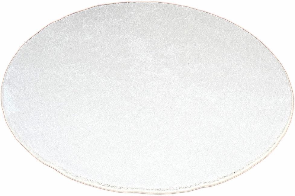 Teppich Prestige Living Line rund Höhe 16 mm maschinell getuftet | Heimtextilien > Teppiche > Sonstige-Teppiche | Weiß | Velours - Laminat | Living Line