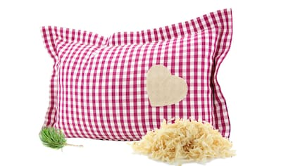 Zirbelino Duftkissen »Zirbenduftkissen«, Füllung: 100% Zirbenspäne, Bezug: 100%... kaufen