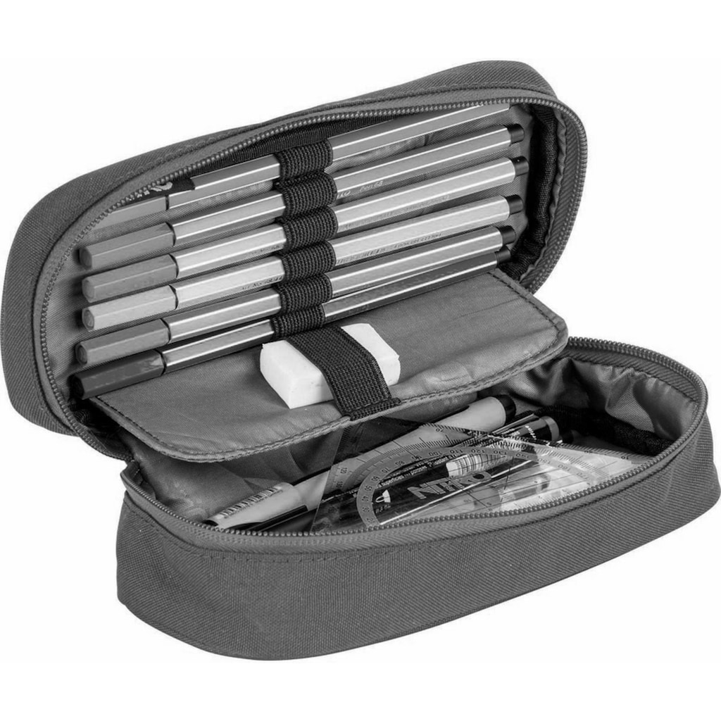 NITRO Federtasche »Pencil Case XL, Blur Blue Trims«