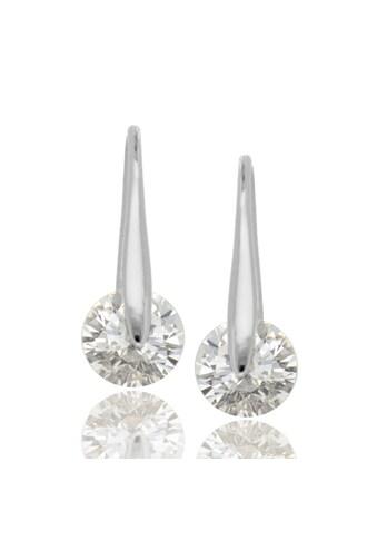 JULES & GENTS Paar Ohrhänger »#castor Silber«, mit Zirkonia, 925/- Sterlingsilber kaufen