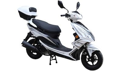 GT UNION Motorroller »GT3«, 50 cm³, 45 km/h, Euro 4, 3 PS, (Set), inkl. Topcase kaufen
