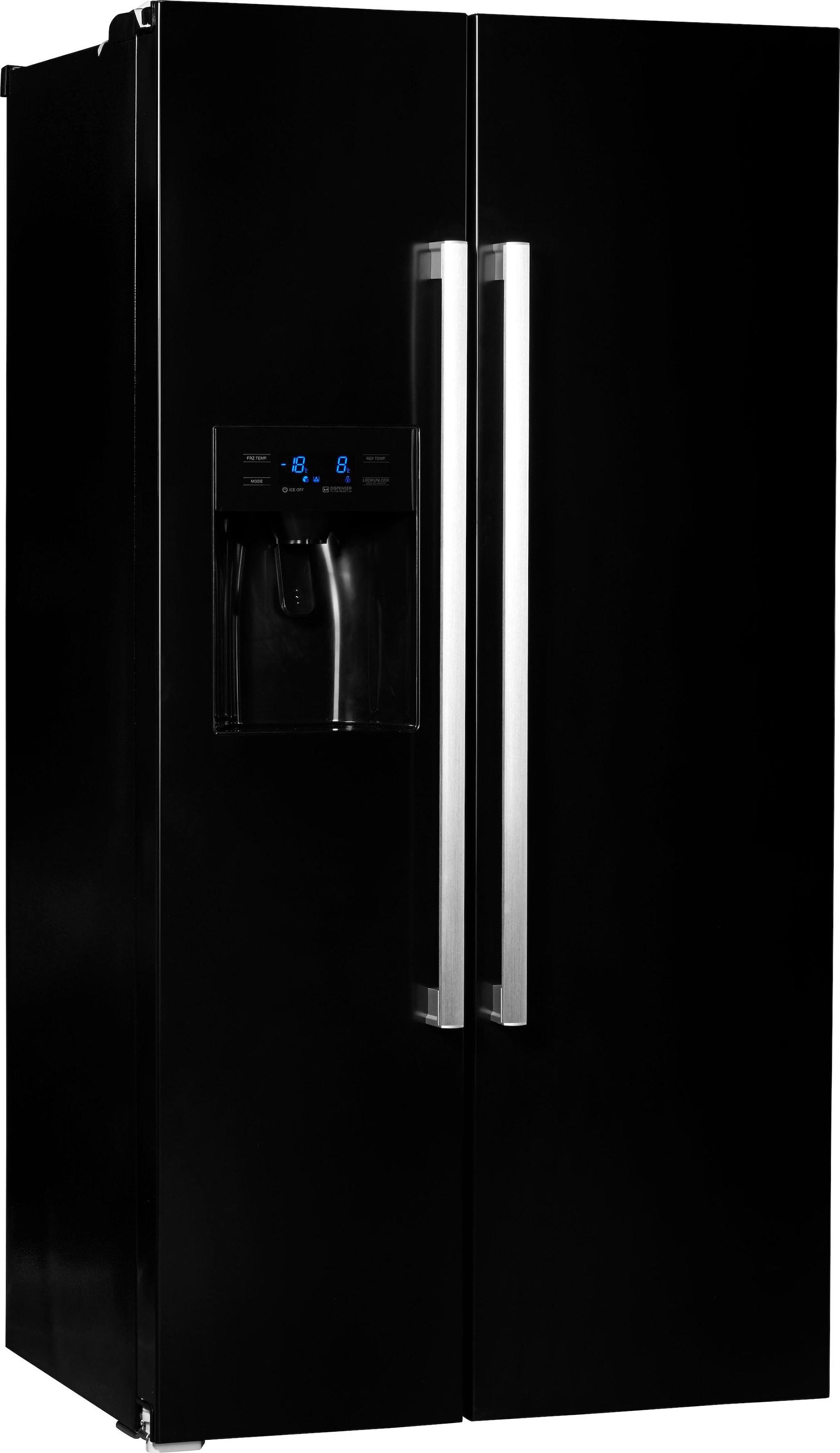 Amerikanischer Kühlschrank Bauknecht : Side by side kühlschrank auf rechnung raten kaufen