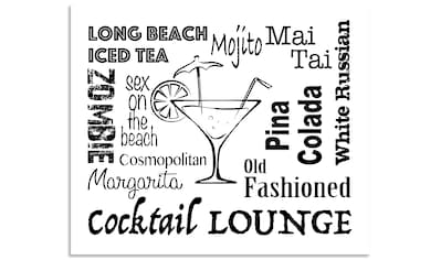 "Artland Küchenrückwand ""Cocktail Lounge"", (1 - tlg.) kaufen"