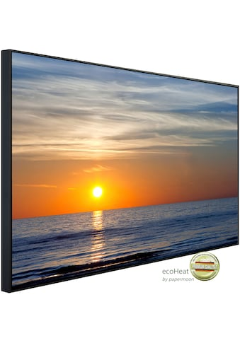 Papermoon Infrarotheizung »Sonnenuntergang an der Ostsee«, sehr angenehme Strahlungswärme kaufen