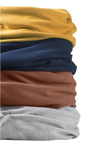 Casual Looks Rundhals - Pullover mit Rippbündchen an Ärmeln und Saum kaufen