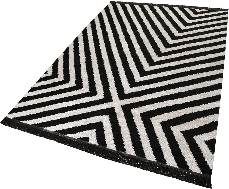Teppich Edgy Corners carpets&co rechteckig Höhe 5 mm handgewebt
