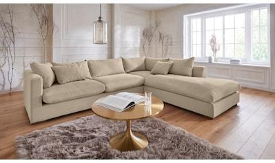 Guido Maria Kretschmer Home&Living Ecksofa »Pantin«, extra weich und kuschelig,... kaufen