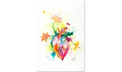 Wall-Art Glasbild »Buttafly - Nature Beating Heart«, 40/60 cm kaufen