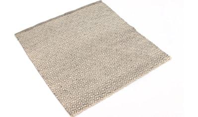 morgenland Wollteppich »Kelim Teppich handgewebt beige«, rechteckig, 6 mm Höhe, Kurzflor kaufen