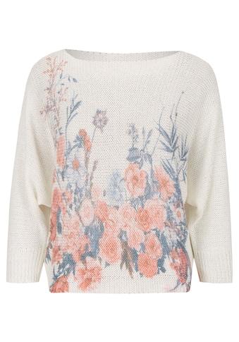 Heimatliebe Oversize Pullover geblümt kaufen