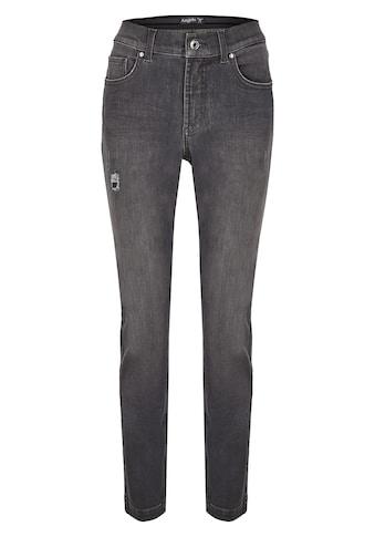 ANGELS Straight-Jeans, mit Destroyed-Effekten kaufen
