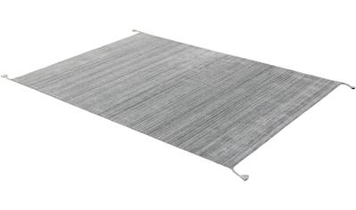 SCHÖNER WOHNEN-Kollektion Teppich »Alura«, rechteckig, 8 mm Höhe, Hochwertiger Viskoseanteil, Wohnzimmer kaufen