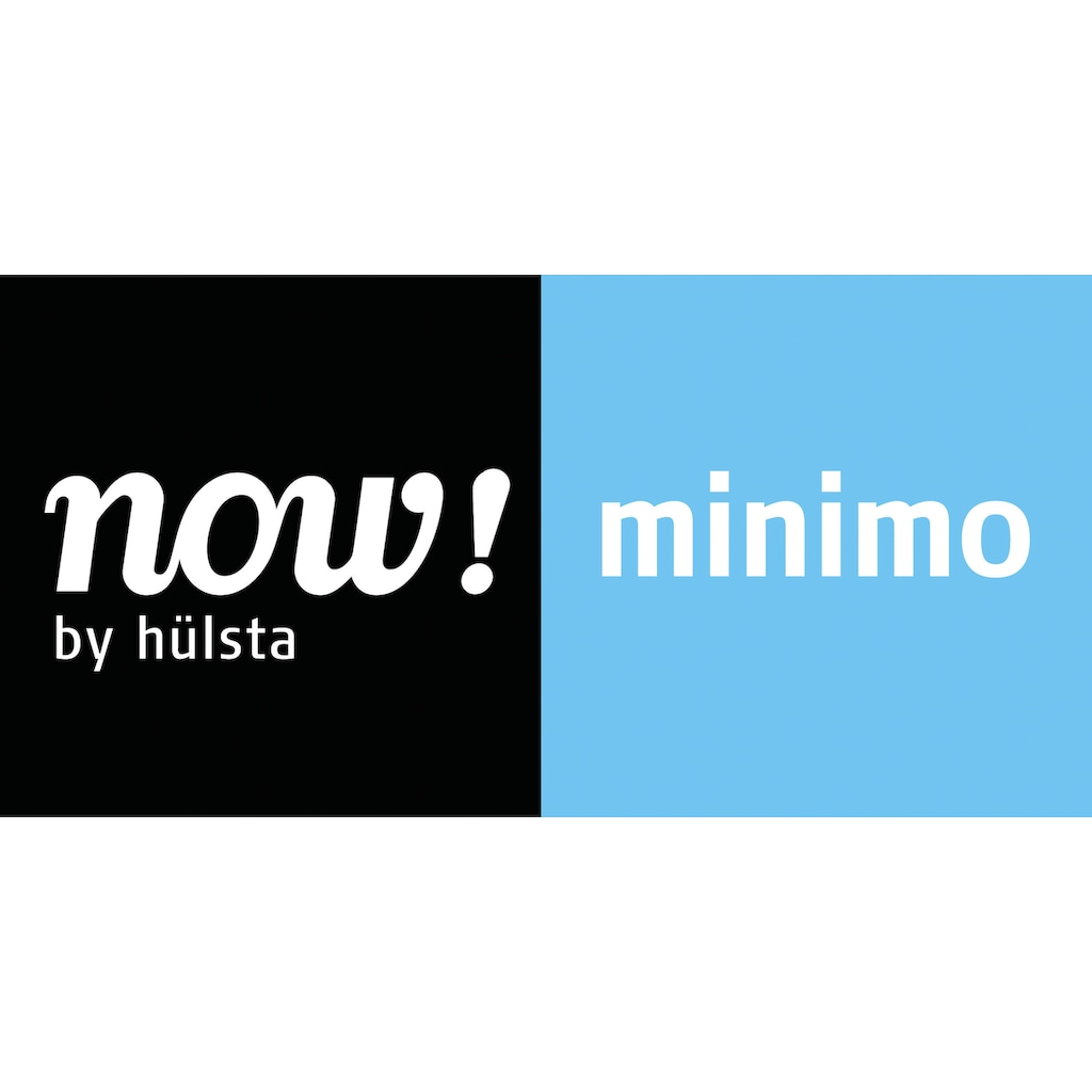 now! by hülsta Kommode »now! minimo«, mit roten Griffen