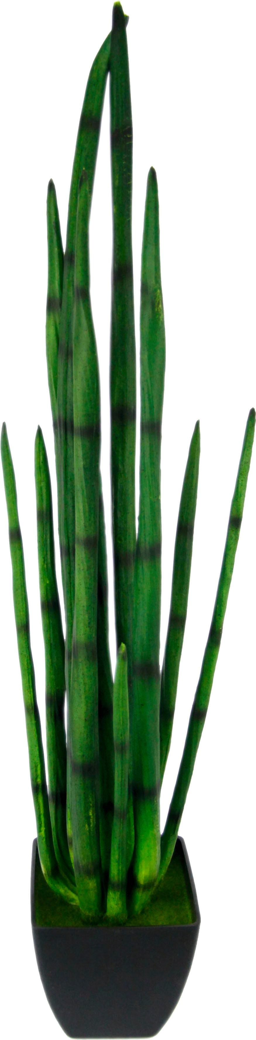 I.GE.A. Kunstpflanze Aloe im Topf grün Künstliche Zimmerpflanzen Kunstpflanzen Wohnaccessoires