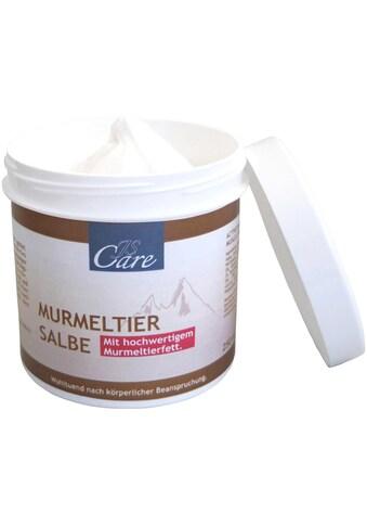 Murmeltiersalbe gegen Gelenkschmerzen, Verspannungen oder Muskelkater kaufen
