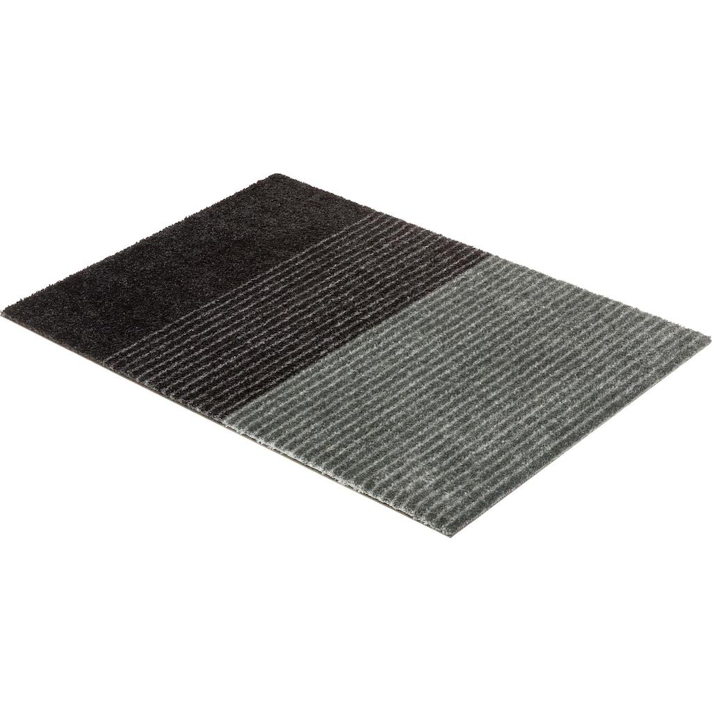 SCHÖNER WOHNEN-Kollektion Fußmatte »Manhattan 003«, rechteckig, 7 mm Höhe, Schmutzfangmatte, waschbar