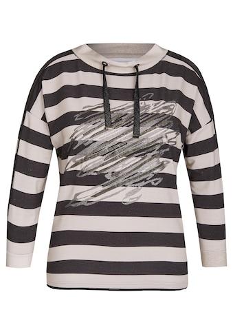 Rabe Shirt mit Ringelmuster und schimmernden Effekten kaufen
