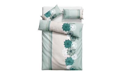 Home affaire Bettwäsche »Milla«, mit Blumen und Streifen kaufen