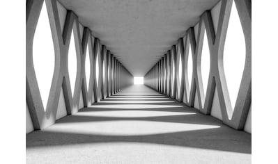 LIVINGWALLS Fototapete »Designwalls Grey Aisle«, Premium Vlies kaufen