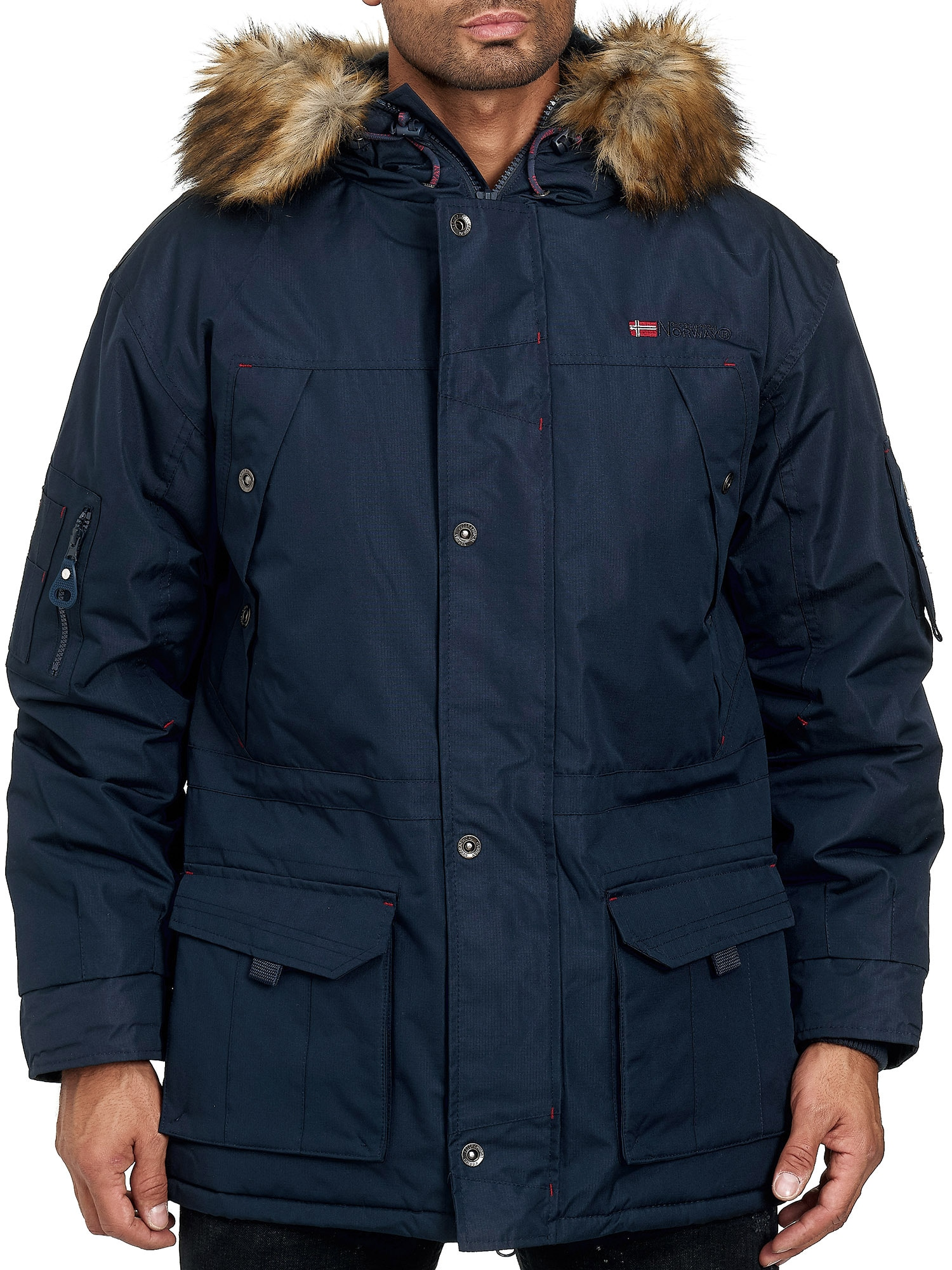 Geographical Norway Steppmantel | Bekleidung > Mäntel > Sonstige Mäntel | Blau | geographical norway