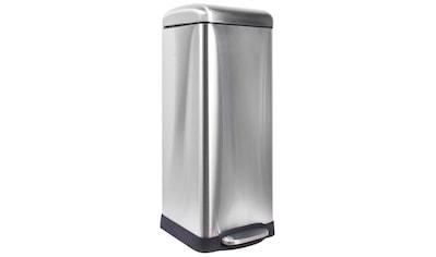ADOB Mülleimer »Abfallbehälter«, 30 L aus gebürstetem Metall mit herausnehmbarem Inneneimer kaufen