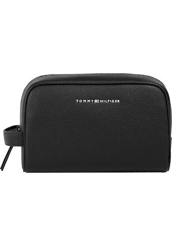 Tommy Hilfiger Kosmetiktasche »ESSENTIAL PU WASHBAG«, im zeitlosen Design kaufen