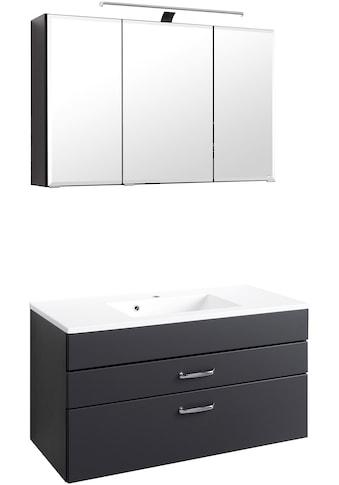 HELD MÖBEL Badmöbel-Set »Fontana«, (2 tlg.), Breite 100 cm, modernes Design kaufen