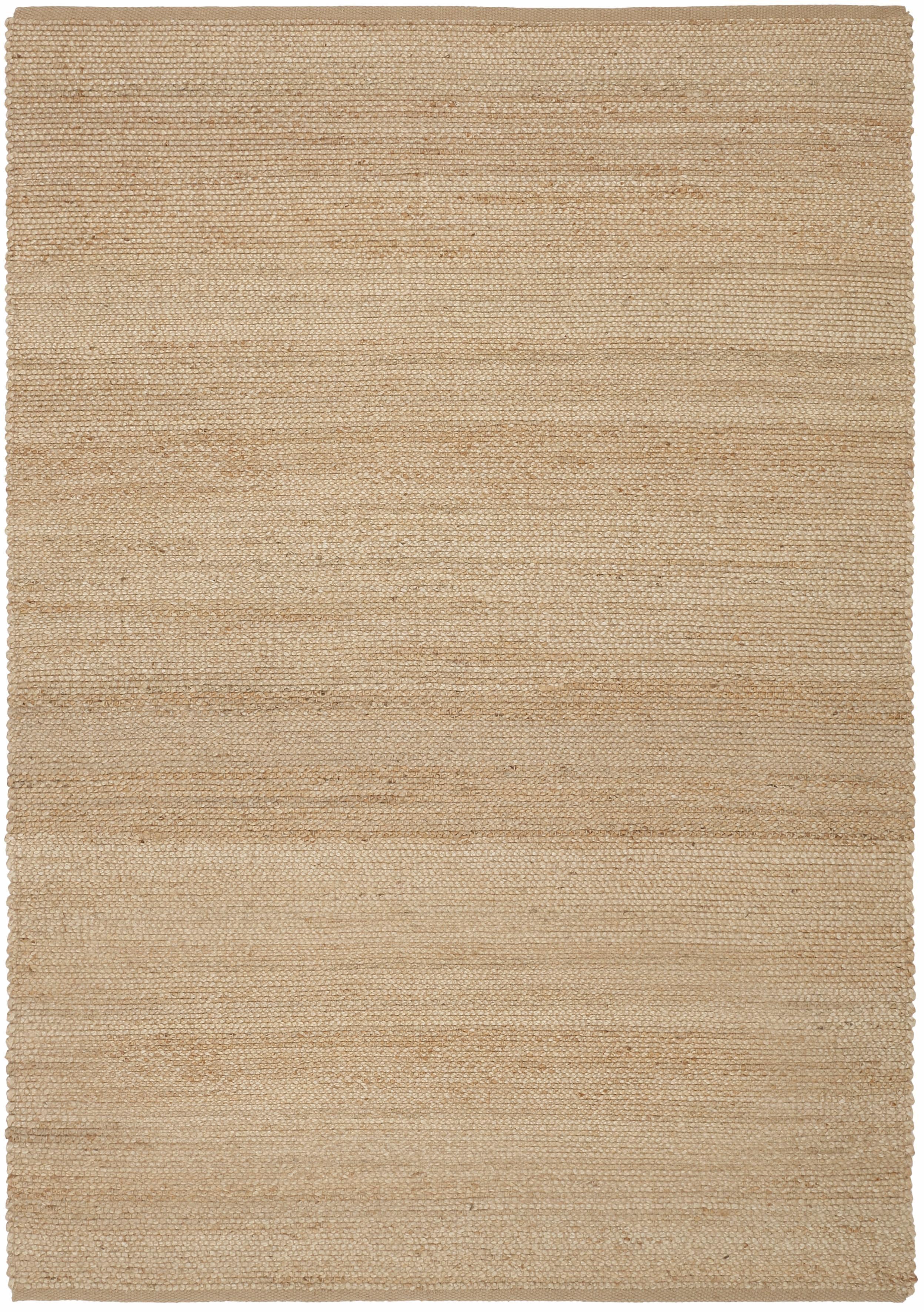 Teppich Hanf Uni Home affaire rechteckig Höhe 5 mm handgewebt