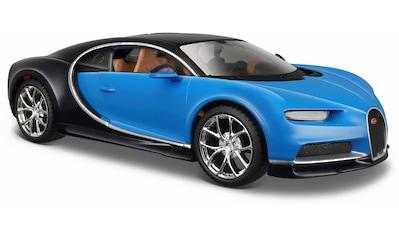 """Maisto® Sammlerauto """"Bugatti Chiron, 1:24, blau"""", Maßstab 1:24 kaufen"""
