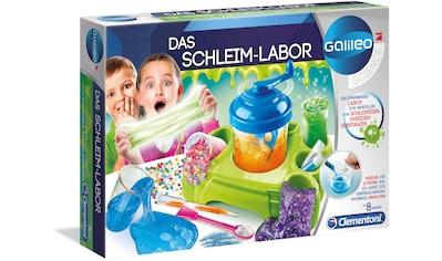 """Clementoni® Experimentierkasten """"Galileo  -  Das Schleim - Labor"""" kaufen"""