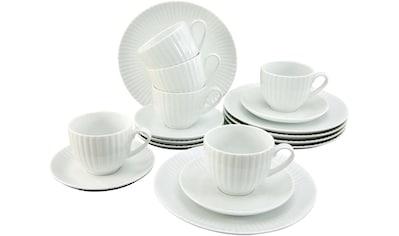 CreaTable Kaffeeservice »ALLEGRA«, (Set, 18 tlg.), im Trend-Design kaufen