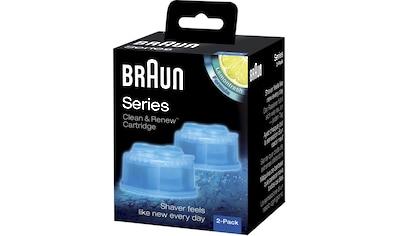 Braun Elektrorasierer Reinigungslösung »Clean & Renew CCR«, (Set), für Series 3-9... kaufen