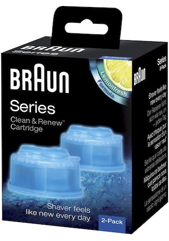 Braun Reinigungskartusche »Clean & Renew CCR«, für Series 3-9 Elektrorasierer kaufen