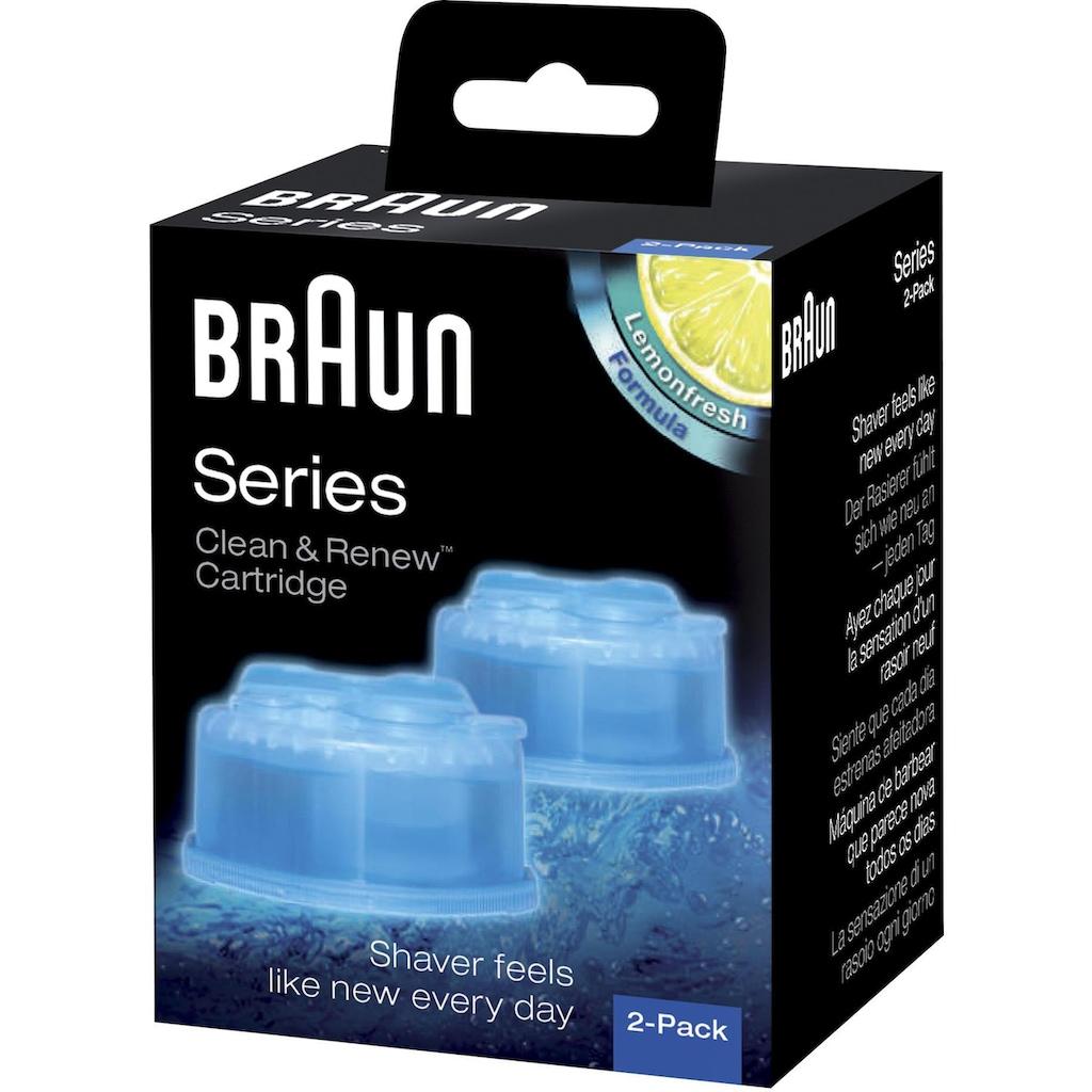 Braun Reinigungskartusche »Clean & Renew CCR«, für Series 3-9 Elektrorasierer