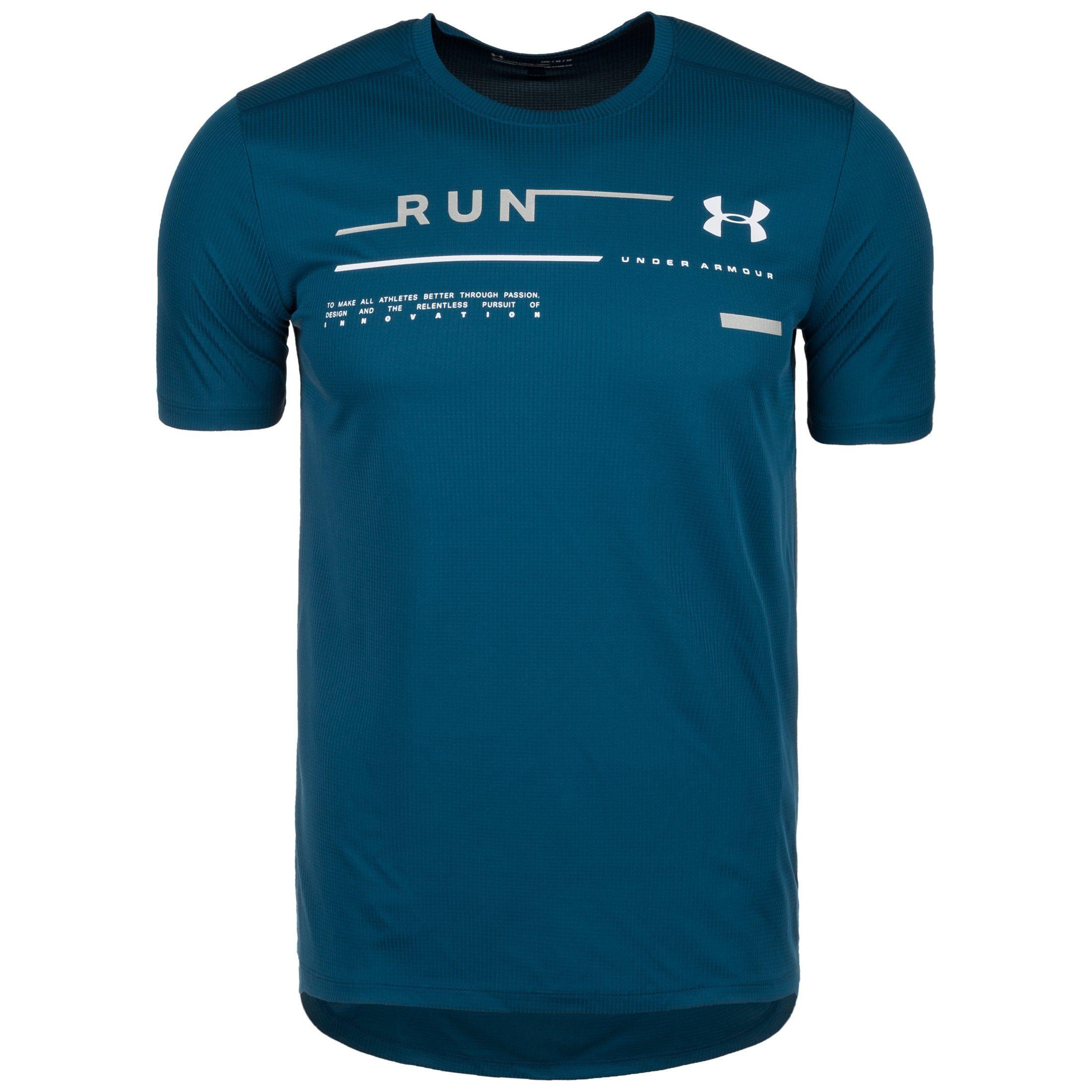 Under Armour Laufshirt Run Graphic   Sportbekleidung > Sportshirts > Laufshirts   Blau   Under Armour