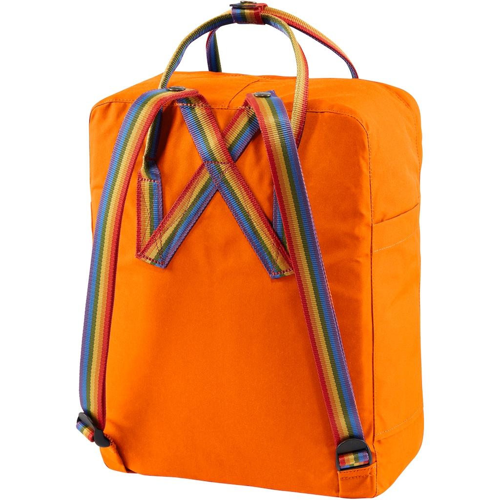 Fjällräven Freizeitrucksack »Kanken Rainbow, burnt orange«