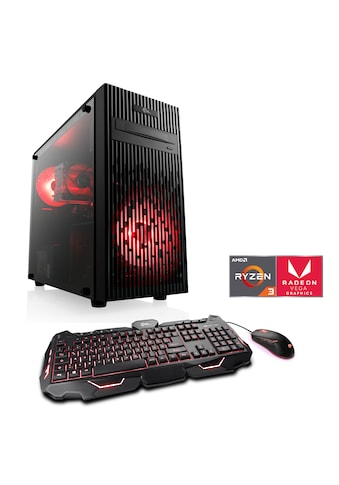 CSL Gaming-PC »Levitas T8186 Windows 10 Home«, AMD Ryzen 3 3200G | Vega 8 | 16 GB RAM | SSD kaufen